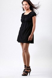 Allegra K Woman Short Sleeve 2S-2M-1L